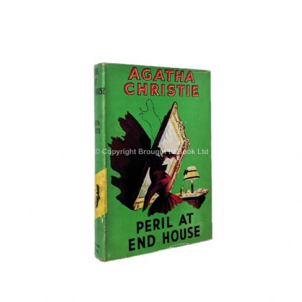 Peril At End House by Agatha Christie Reprint The Crime Club by Collins 1952